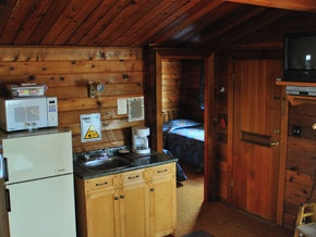 Cabin 8 Kitchenette